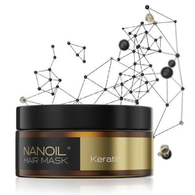 най-добрата маска за коса Nanoil Keratin Hair Mask