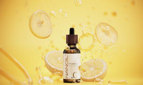 любим серум за лице с витамин С Nanoil